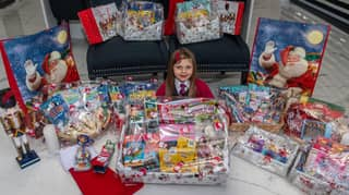 Five-Year-Old Girl Makes Festive Hampers For Children In Hospital Over Christmas