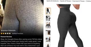 Woman Leaves Brutally Honest Amazon Review For 'Anti Cellulite Leggings'