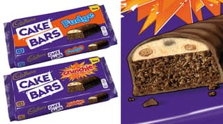 Asda Is Now Selling Cadbury Crunchie And Fudge Cake Bars For £1.60