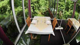 You Can Now Dine In A Glass Restaurant Overlooking A 80ft Gorge In Yorkshire