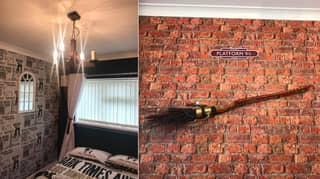 Woman Creates Spellbinding 'Harry Potter' Themed Room For Her Daughter