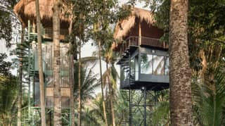 You Can Now Sleep In Treehouses In A Jungle In Bali