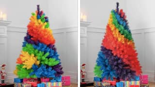 ASDA Is Launching Huge Rainbow Christmas Trees