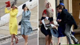 Storm Callum Caused Absolute Havoc For Guests At Princess Eugenie's Wedding
