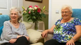 Gogglebox Legends Mary And Marina Both Get Covid Vaccine Together