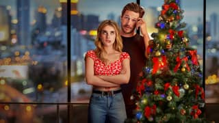 People Are Loving Netflix's New Cheesy Christmas Rom-Com Holidate Starring Emma Roberts