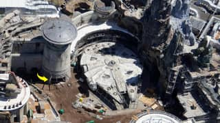 Ariel Pictures Show The New Star Wars Park At Walt Disney World