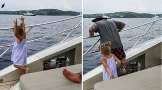 Four-Year-Old Throws Dad's Phone Overboard Because He Was Using It Too Much