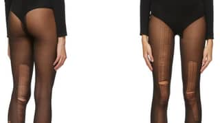 Gucci Is Literally Selling Ripped Black Tights For £146
