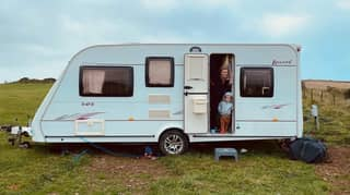 Woman Stuns With Jaw-Dropping Caravan Transformation