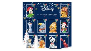 You Can Now Get An Advent Calendar Full Of Disney Christmas Socks