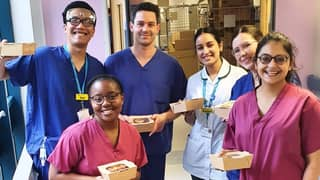 A Fundraiser Has Been Set Up To Deliver Meals To Exhausted NHS Staff