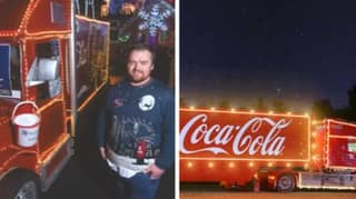 Man Builds His Own Coca Cola Christmas Truck After Ad Gets Cancelled