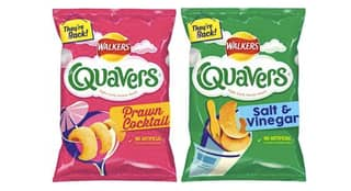 Walkers Confirm The Return Of Prawn Cocktail And Salt & Vinegar Quavers