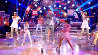 Strictly Fans Baffled As Katya Jones Appears In Group Dance Despite Testing Positive For Coronavirus