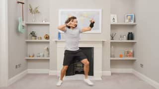 People Are Baffled By Joe Wicks' Unnervingly Neat Living Room During Live PE Lesson
