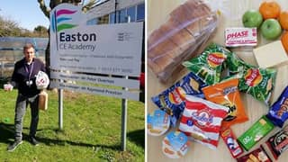 Teachers Slam 'Shameful' Food Package For Children On Free School Meals