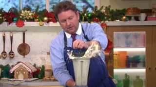 Holly And Phil In Hysterics On This Morning As James Martin's Soup Explodes While Blending It