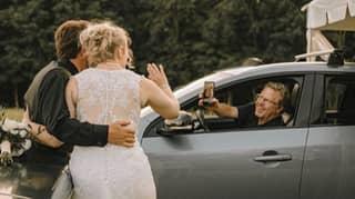 People Are Having Drive-Thru Weddings And It's Genius