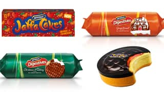 McVitie's Drops Its Christmas Range Including Orange And Cranberry Jaffa Cakes