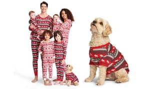 These Matching Christmas Human-Doggo Pyjamas Are Adorable