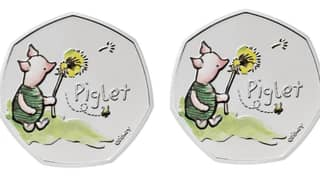 Disney And Royal Mint Launch New Piglet Coin In Time For Christmas