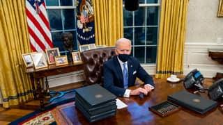 Joe Biden Has Already Removed Donald Trump's Diet Coke Button