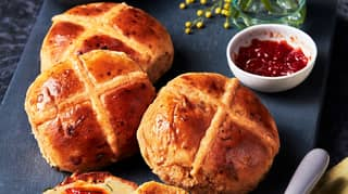 M&S Now Sells Chilli And Cheese Hot Cross Buns For Easter