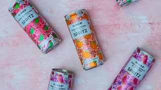 Tesco Is Now Selling Fruity Wine Spritz Tinnies