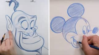 You Can Take Free Disney Drawing Classes To End Isolation Boredom