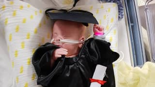 Tiny Baby 'Graduates' From Intensive Care After Being Born Three Months Early