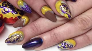 Creme Egg Nails Are The Tastiest Beauty Trend This Easter