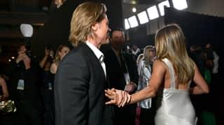 What Brad Pitt Yelled At Jennifer Aniston At The SAG Awards