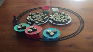 People Are Making Sushi Trains During Lockdown And They're Perfect For Anyone Missing Restaurants