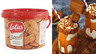 You Can Now Get Massive Tubs Of Biscoff Spread