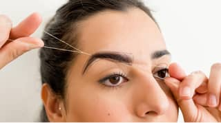 A Step-By-Step Guide To Threading Your Eyebrows At Home