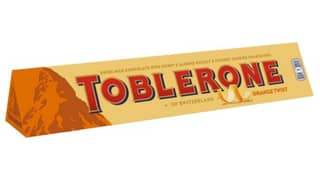 Toblerone Has Launched An Orange Flavoured Bar