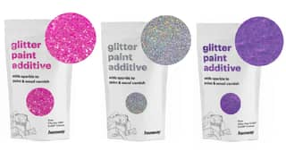 You Can Now Get Glitter To Add To Any Paint For Home DIY