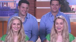 Identical Twin Sisters Married To Identical Twin Brothers Both Pregnant At The Same Time