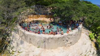 Hot Spring Infinity Pools In Mexico Are Going Straight On Our Bucket List