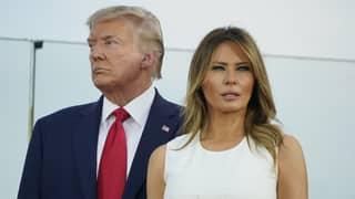 BREAKING Donald Trump And Melania Test Positive For Coronavirus