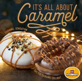 You Can Now Get Salted Caramel Matchmaker Krispy Kremes