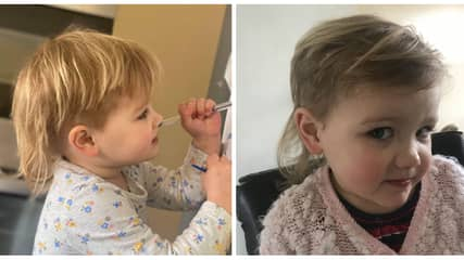 Girl Cuts Her Own Hair And Ends Up With Joe Exotic-Style Mullet