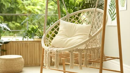 Aldi's Sell-Out Hanging Rope Chair Is Back In Stock