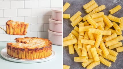 Honeycomb Pasta Cake Is Now A Thing And We Cannot Get Enough Of It