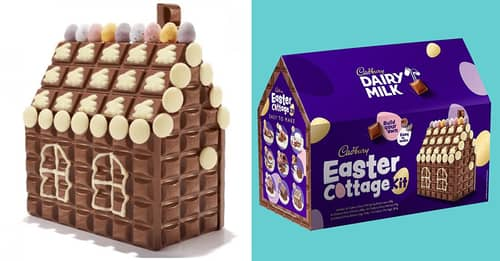 Cadbury Launches Build Your Own Easter Cottage Kit