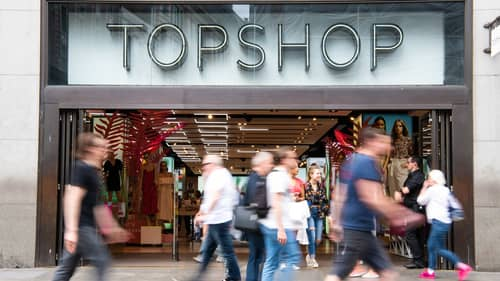 Topshop Flagship Store On Oxford Street Closes Its Doors Amid Reports It's For Sale