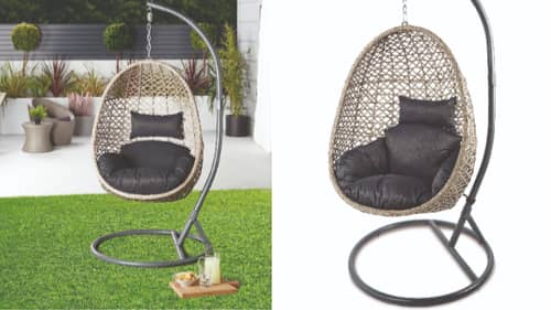 Aldi's Sold Out Egg Chair Selling For Three Times The Price On eBay