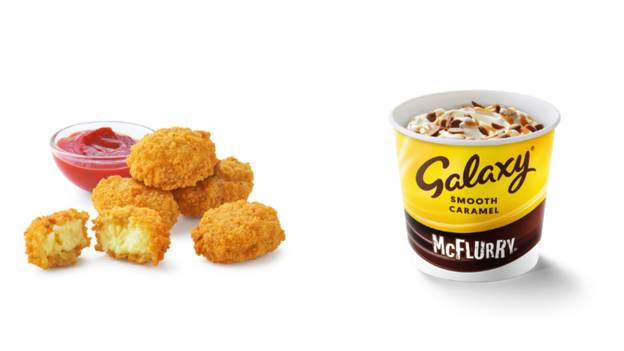 McDonald's Cheese And Herb Melts And Galaxy McFlurries Returning To Menu Next Week