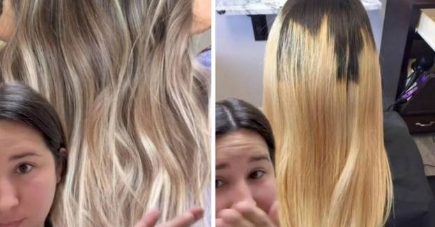 Woman Forced To Cut 12 Inches Off Her Hair Following Epic Balayage Fail